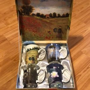McINTOSH Fine Bine China Claude Monet Collection